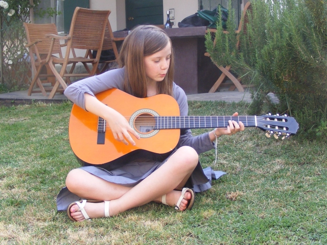 I believe the children are our future. No, I really do. Especially children that look great with guitars.